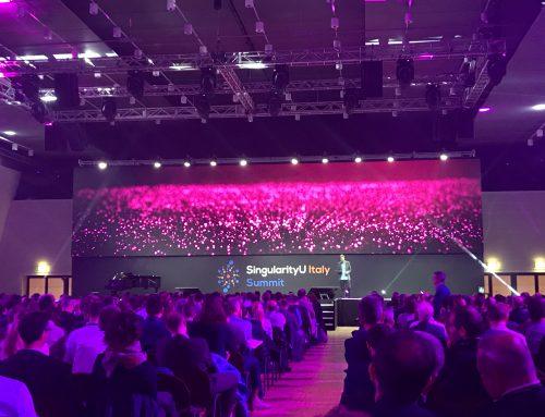 Endurance Italia presente al SingularityU Summit 2018